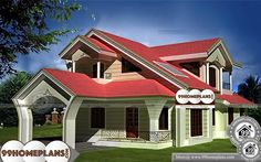 House Model For Small Lot Two Floor Southern Affordable Unusual PlansHouse Model For Small Lot Two Story Within 3000 sq ft House with Elevation Southern Affordable Unusual Plans and Awesome Variety Designs and Collections Home Design Images, House Design Pictures, Best Modern House Design, Cool House Designs, Modern Traditional, Traditional Kitchen, Indian Home Design, 4 Bedroom House Plans, Style Simple