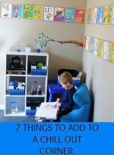 Chill-Out Corner: A PositiveTool for Learning Emotional Self Regulation | Positive Parenting Connection