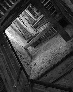 Stair in the Church of St. Euphemia. Croatia. Rovijn