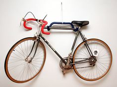 Old Handle Bars- bike rack