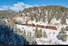 RailPictures.Net Photo: BNSF 970 BNSF Railway GE C44-9W (Dash 9-44CW) at Pinecliffe, Colorado by Nick DAmato (Diamond D)
