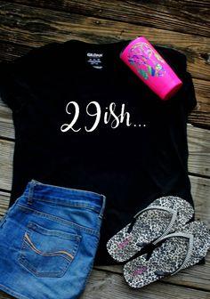 Items similar to Birthday - Birthday for Her Shirt - Dirty Thirty Shirt Women - Birthday - Womens Birthday Shirt - I'm 30 Shirt -and holding on Etsy Womens Birthday Shirt, 30th Birthday Shirts, Thirty Birthday, 20th Birthday, Birthday Woman, 1st Birthday Girls, Boy Birthday Parties, Birthday Stuff, 30th Birthday Ideas For Women