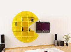 PacMan shelves