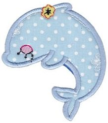 Decorative Sea Creatures Applique 6 - 2 Sizes! | What's New | Machine Embroidery Designs | SWAKembroidery.com Bunnycup Embroidery