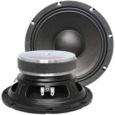 """Seismic Audio - Jolt-8Pair - Pair of 8"""" Bass Guitar Raw Woofers Speaker Driver PRO AUDIO Replacements by Seismic Audio. $84.99. Pair of 8"""" Bass Guitar Replacement Woofer - 8 OhmsModel Number: JoltTM 8 (Pair)175 Watts RMS - 350 Watts Peak eachBass Guitar Replacement Woofers8 Ohm75 Hz-5K Hz91 dB40 ounce magnet2"""" Voice CoilPressed Steel ChassisPaper Cone/Cloth EdgeBrand NewOne Year WarrantyWhether you are building your own bass guitar cabinet or replacing an old woofer,..."""