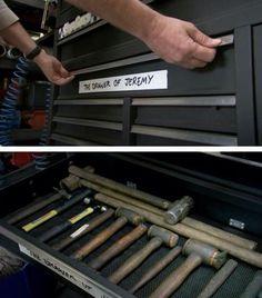 Clarkson's drawer