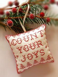 'joyful' ornament