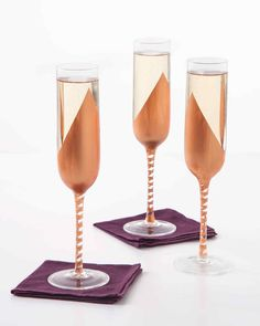 Elevate your bubbly to a uniquely stylish level.