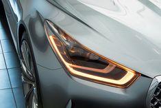 Vision G Coupe Concept par Hyundai  Plus de découvertes sur Le Blog des Tendances.fr #tendance #voiture #bateau #blogueur