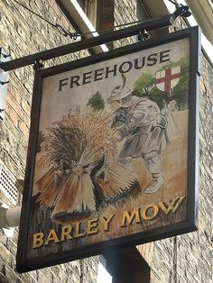 The Barley Mow - Shoreditch - Pub Sign