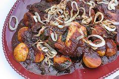 Red-Chile Braised Chicken