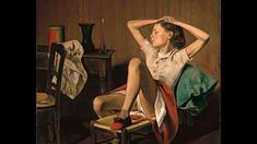 Balthus - Thérèse dreaming - Art On Screen - NEWS in Riehen bei Basel, Vienna, Youtube, Painting, News, Art, Art Background, Painting Art, Kunst