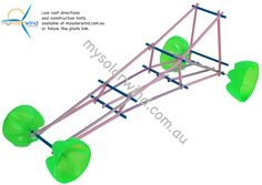 Great rubber band powered car. Directions at mysolarwind.com.au