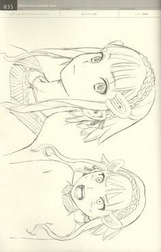Range Murata - (Linkage LastExile) - Fam, The Silver Wing - Character Filegraphy 01 :: NoNaMe Character Design Girl, Character Creation, Character Concept, Concept Art, Character Art, Range Murata, Manga Anime, Anime Art, Manga Drawing Tutorials