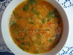 a recipe very close to the mangalorean way of making dal