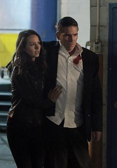 "POI:  Season 4  Episode 12  ""Control-Alt-Delete""  Root cares for Reese."