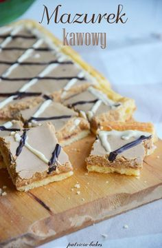 Polish Desserts, Polish Recipes, Cookie Desserts, No Bake Desserts, Delicious Desserts, Sweet Bar, Easter Dinner, Easter Recipes, Biscuits
