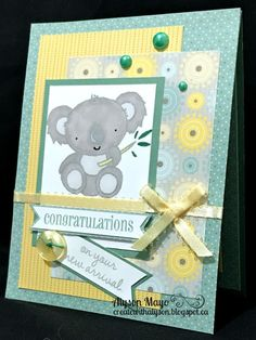 Congrats on your New Arrival card
