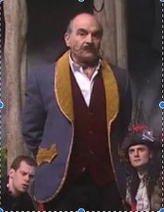 David Suchet in Peter Pan Goes Wrong