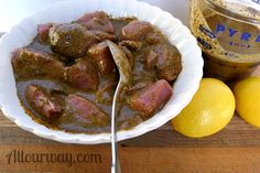 Pork Kebabs - Spiedini di Maiale marinating @allourway.com