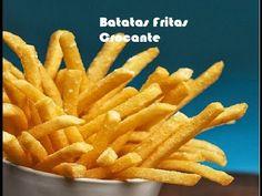 O segredo da Batata Frita - Receita de Ana Maria Braga - YouTube