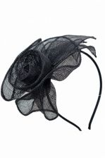 Black Fascinators & Hats with hairbands, combs & clips. Facinator Hats, Black Fascinator, Fascinators, Hair Pieces, Hair Band, Flower Designs, Fashion Forward, Cool Hairstyles, Nice
