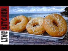 Λουκουμάδες Παραλίας με Τυρί Φέτα - Amazing Donuts with Greek feta cheese - YouTube