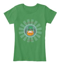 St. Patrick's Day Tshirt Kelly Green  Women's T-Shirt Front