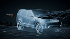 Landrover Capability. In partnership with Land Rover's advanced research division and Ink, Territory designed and animated UI and motion gra...