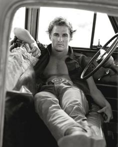 "Herb Ritts' ""Matthew McConaughey, Palmdale,"" from 1996, is featured in the new exhibit ""Herb Ritts: Beauty and Celebrity"" at the Oklahoma City Museum of Art."