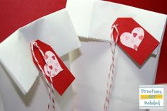 valentine's day treat bags.