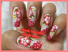 UÑAS Spring Nail Art, Spring Nails, Fancy Nails, Pretty Nails, Uñas Diy, Cute Toes, Fall Nail Designs, Acrylic Nail Art, Flower Nails