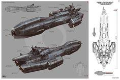 Dreadnought Tesser by *KaranaK on deviantART