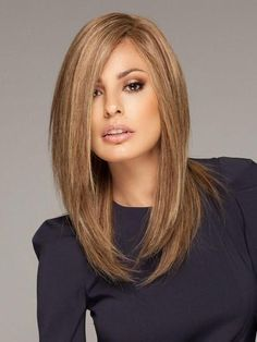 Ombre Blonde Wigs Lace Frontal Hair Straight Blonde Wig With Bangs Frontal Hairstyles, Long Bob Hairstyles, Wig Hairstyles, School Hairstyles, Longbob Hair, Medium Hair Styles, Curly Hair Styles, Non Blondes, Langer Bob
