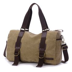 Cheap duffle bag, Buy Quality travel bag directly from China men travel bags Suppliers: men travel bags canvas zipper solid big tote duffle bag with shoulder strap