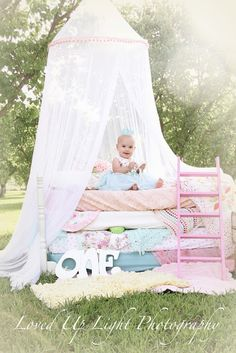princess and the pea photo shoot , 1 yr pictures Loved Up Light Photography: {Kids}