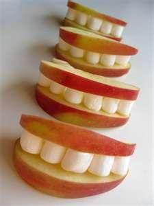 fuzz food: fun snacks for kids: apple smiles