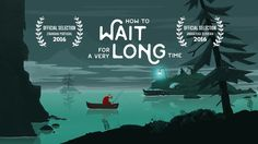"""""""How to wait for a very long time"""" is a shortfilm about a fisherman who is obsessed with catching a certain fish. His whole life he tries to make a big haul, but just catches other fishes instead. Over time he gets frustrated and is not able to value the beautiful nature around him. He forgets that the journey is the reward. Directed, illustrated and animated by Jill Goritschnig Sound design by Maximilian Helten  Cinanima 2017 Portugal 