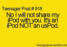 teenager posts | ipod, teenager post, teenager posts - inspiring picture on Favim.com