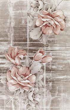 Sultan Derya Teppichmodelle mit Blumenmuster - New Ideas Decoupage Vintage, Vintage Paper, Vintage Art, Decoupage Printables, Printable Scrapbook Paper, Flowery Wallpaper, Wallpaper Backgrounds, Watercolor Flowers, Flower Art