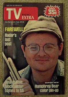 #mash #M*A*S*H - Radar O'Reilly on TV Radio Extra magazine