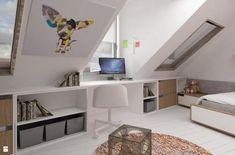 Attic Bedroom Master - Gisella P. Attic Bedroom Small, Attic Bedroom Designs, Attic Bedrooms, Attic Design, Attic Spaces, Bedroom Ideas, Loft Room, Bedroom Loft, Master Bedroom