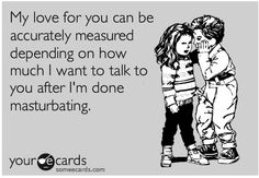 Now there's a measuring stick for ya! HAHAHAHAH
