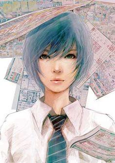 日本Wataboku漂亮的女孩肖像欣赏_东北漫画