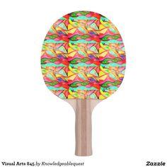 Visual Arts 845 Ping Pong Paddle