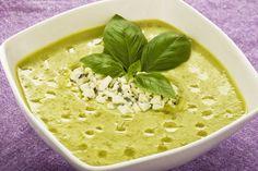 Zupa krem z groszku i sera