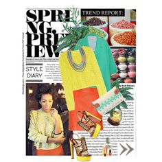 """Color Color Color  """"girl with damn style"""" created by #isikac on #polyvore. #fashion #style Rebecca Taylor Roksanda Ilincic"""