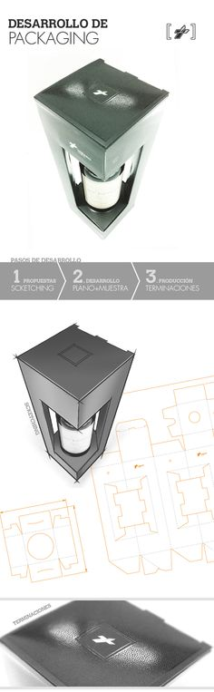 Wine Box · Structural Packaging by Maria Bustamante, via Behance