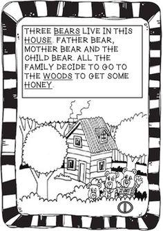 Guided Reading -Goldilocks and The Three Bears - Literacy fun