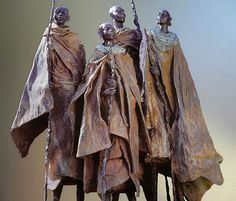 Africa: Sculpture by Marianne Houtkamp